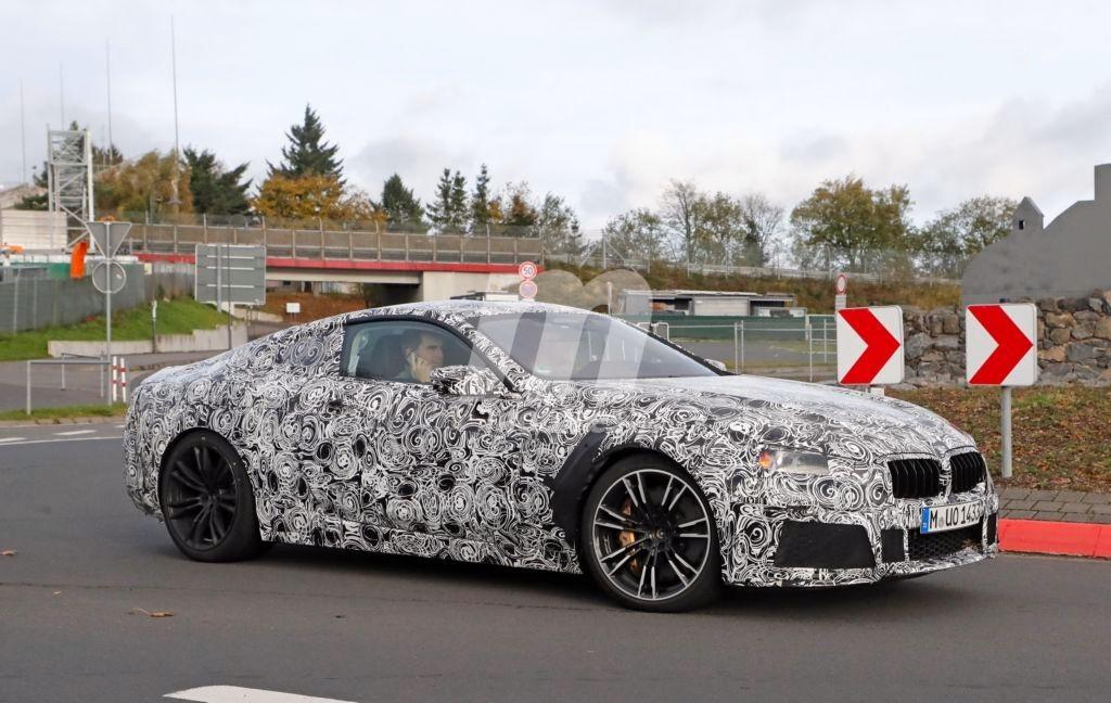 BMW M8: nos muestra su habitáculo en Nürburgring