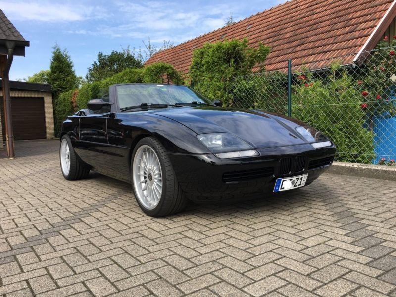 El único BMW Z1 conocido con motor V8 Alpina a la venta