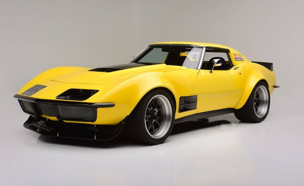 Espectacular Chevrolet Corvette 1973 restomod de competición a la venta