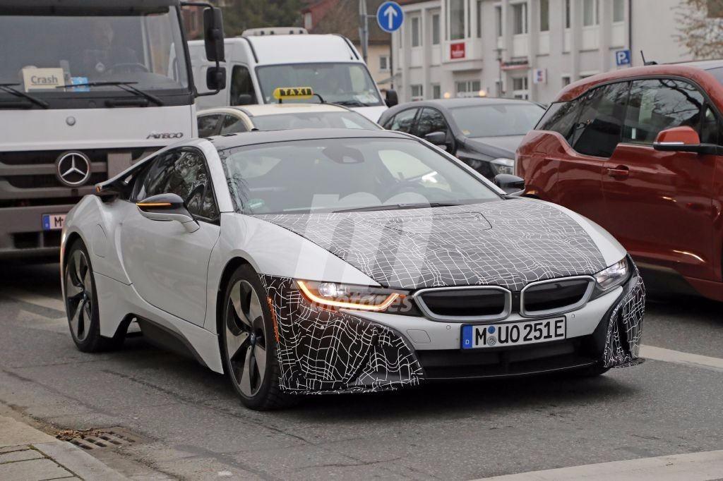 BMW comienza las pruebas del i8 LCI para ser presentado en primavera