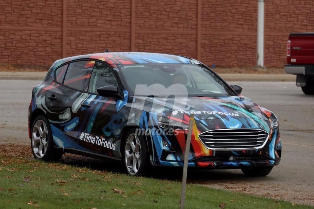 El nuevo Ford Focus se destapa casi por completo antes de su debut en 2018