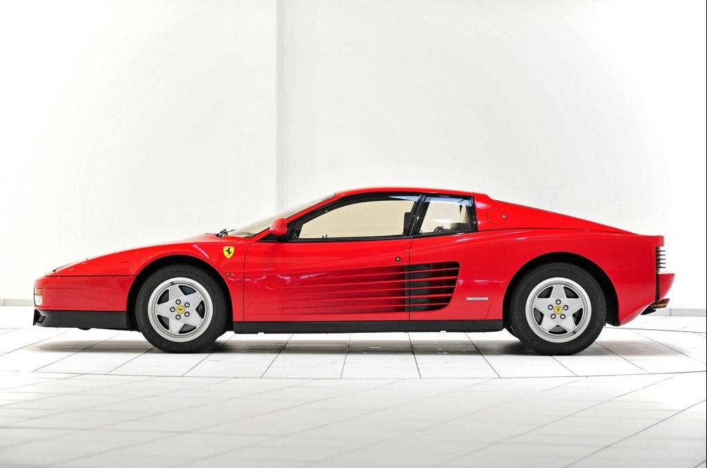 El origen de las célebres entradas de aire del Ferrari Testarossa