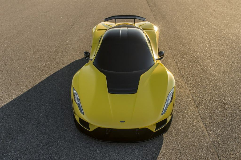 Hennessey Venom F5: mucho carbono y 1.622 CV para llegar a 484 km/h