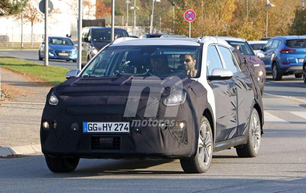 Kia comienza las pruebas del Niro EV antes de su debut en el Salón de Ginebra