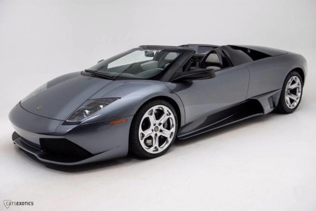 Uno de los pocos Lamborghini Murciélago manuales a la venta