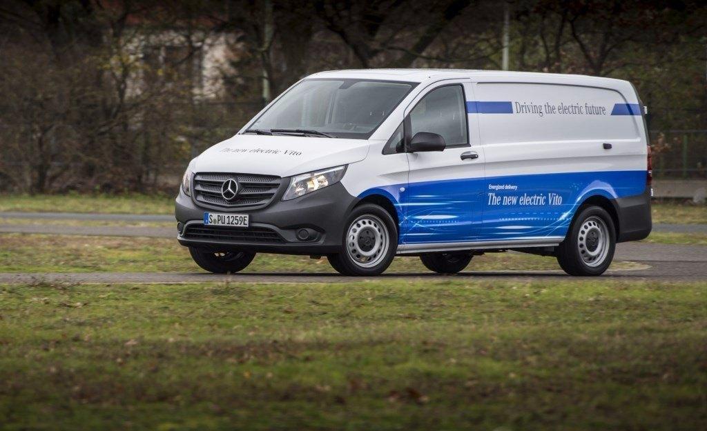 Mercedes eVito, llega la primera furgoneta eléctrica de la marca de la estrella