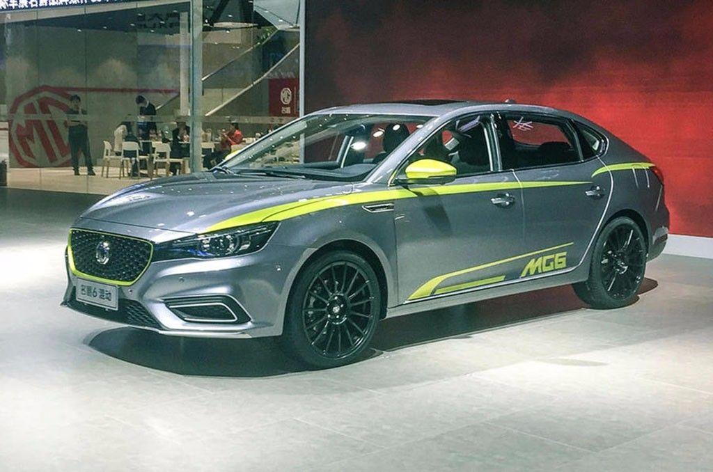 El MG6 2018 debuta en Guangzhou con una versión híbrida enchufable