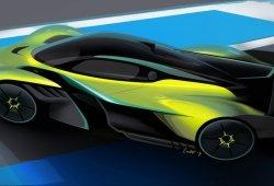 Aston Martin Valkyrie AMR Pro: sus primeras imágenes y datos