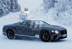 El nuevo Bentley Continental GTC cazado al desnudo por primera vez