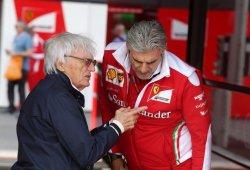 Ecclestone aconseja a Liberty que se tome en serio la amenaza de Ferrari