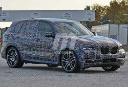 El BMW X5 2018 estrena camuflaje en la factoría de Spartanburg
