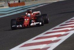 Vettel despide la temporada con el mejor tiempo en Yas Marina