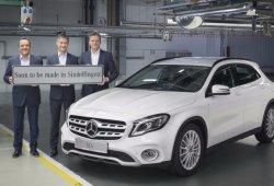 El Mercedes GLA moverá su producción a Sindelfingen en 2018