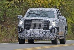 El nuevo pick-up GMC Sierra 1500 cazado en unos test de carretera
