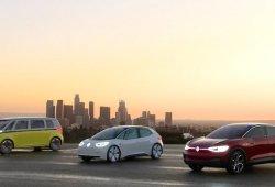 Volkswagen reune todos sus concepts eléctricos en Los Ángeles 2017