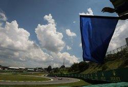 La FIA prueba un nuevo sistema de banderas azules en Brasil
