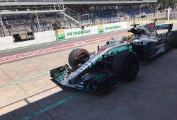 Hamilton sigue sin levantar el pie en los libres 2
