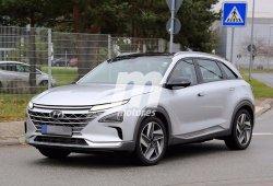 El nuevo SUV de Hyundai propulsado por hidrógeno, cazado al descubierto