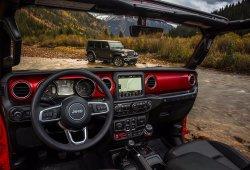 Jeep desvela el interior del Wrangler 2018: tradicional y tecnológico