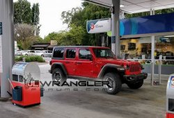 Jeep Wrangler: el Unlimited Rubicon 2018 se deja ver al desnudo
