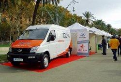 Maxus aterriza en España y lo hace con la furgoneta eléctrica EV80