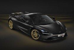 Nuevo McLaren 720S one-off en negro y oro para el Salón de Dubai