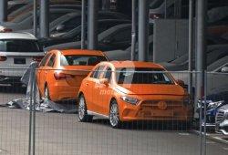 Los nuevos Mercedes Clase A hatchback y Sedán cazados al descubierto