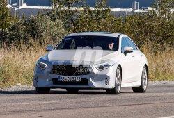 Mercedes CLS 2018: al descubierto una unidad sin camuflaje
