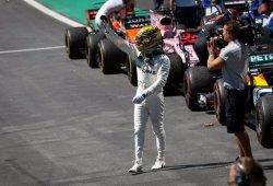 """Hamilton disfruta a pesar de perder el podio: """"Me recordó a mis días del karting"""""""
