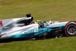 """Hamilton: """"Los neumáticos no duran mucho, sólo tienes una o dos vueltas"""""""
