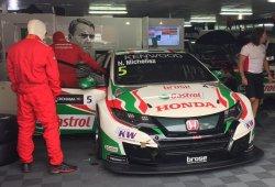 Michelisz supera a Huff en el FP1 del WTCC en Macao
