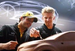 """Hülkenberg: """"Sainz ya ha tenido un impacto positivo en Renault"""""""