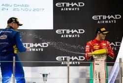Oliver Rowland y Antonio Fuoco, descalificados de la carrera de F2