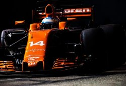 Alonso espera más dificultades para puntuar en Yas Marina