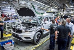 Se inicia la producción del nuevo Volvo XC40 en Bélgica