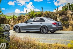 Prueba Mercedes-AMG E 43, potencia para aderezar la mezcla
