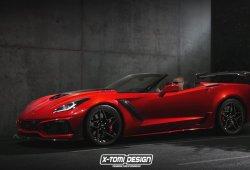 ¿Llegaremos a ver un Chevrolet Corvette ZR1 2019 convertible?