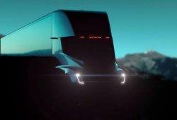 Nuevo teaser del camión eléctrico de Tesla en movimiento