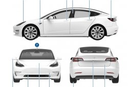 Filtrado el manual de usuario completo del Tesla Model 3