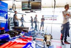 Toro Rosso podría quedarse sin repuestos para el último GP en Abu Dhabi