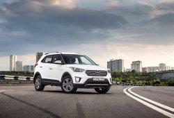 Rusia - Octubre 2017: Hyundai Creta, rey entre los crossovers