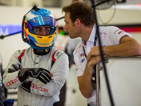 "Alonso tras el test de Bahrein: ""Los LMP1 son increíbles de pilotar"""