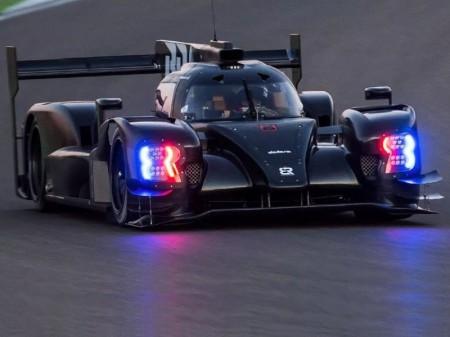 El BR1 debuta con accidente en un test en MotorLand