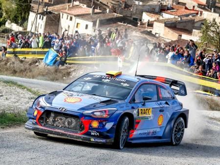 Los cuatro pilotos de Hyundai en el WRC parten en igualdad