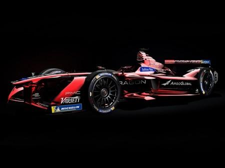 Dragon Racing muestra los colores del Penske EV-2