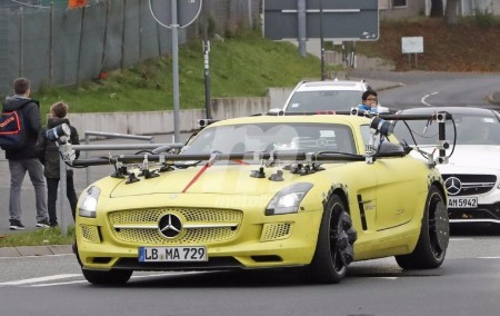Cazada una mula de funciones autónomas para el Mercedes Project One