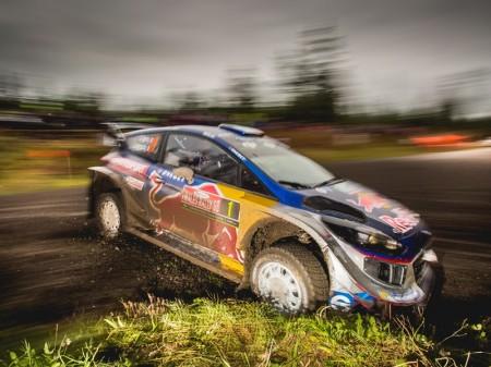 Ogier y M-Sport presumen de títulos en el Rally de Australia
