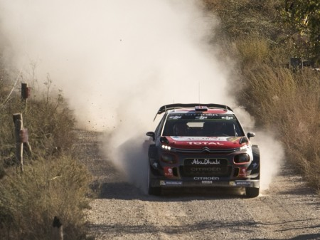"""El Rally de Australia """"más agresivo"""" de Citroën"""