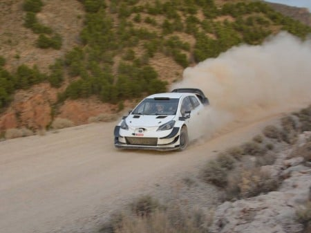 Toyota prueba en Almería el Yaris WRC 2018