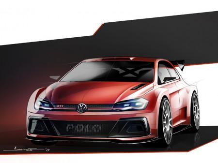 Primer teaser del nuevo Volkswagen Polo GTI R5